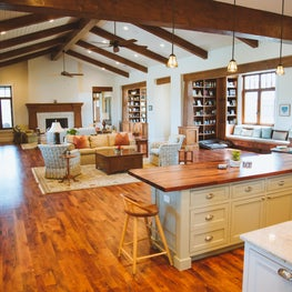 Texas Mesquite Flooring   Hardwood Design Company   Austin Residence