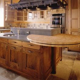 Aspen Kitchen - Antique Chateau Stone Tile Flooring