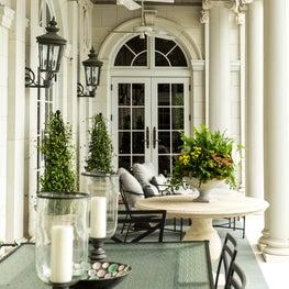 Ortega Riverfront Home- Jacksonville, Florida. Porch.