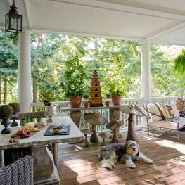 Covered Porch for Outdoor Dining