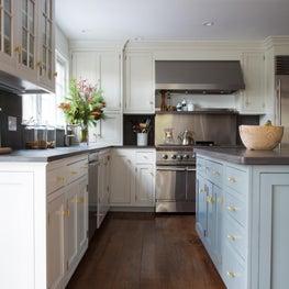 Modern Farmhouse Two Tone Kitchen