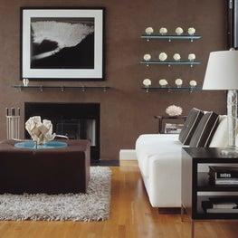 Chocolate and Vanilla living room