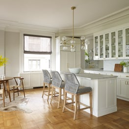 Open Concept Kitchen and Dining in NYC Apartment