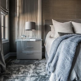 Earthy Glamour, Master Bedroom