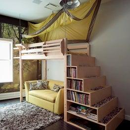 Boy's Camp Bedroom
