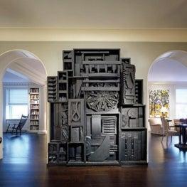 New York hallway and living room