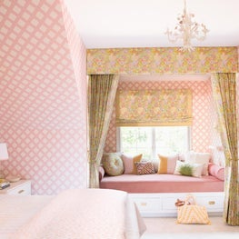 Think Pink! Little Girl's Dream Room
