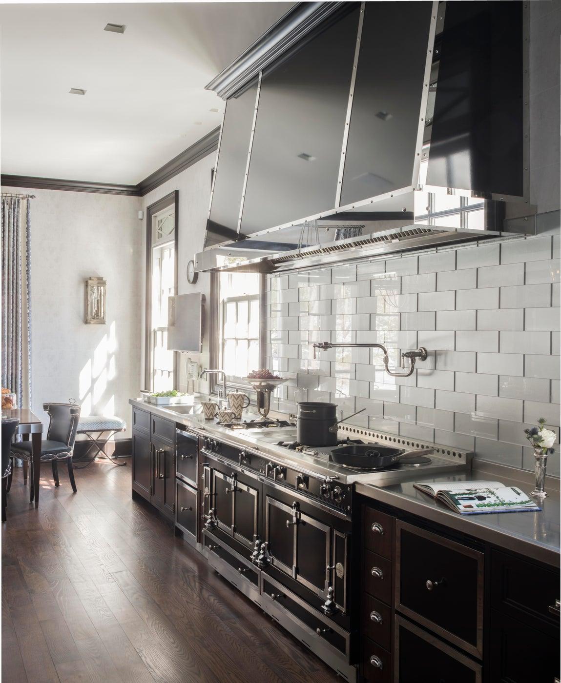 Black and White Kitchen, Greenwich