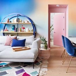 Mission Boho Condo: Great Room