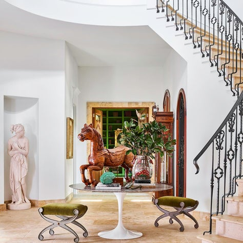 Artful Entry Stairwell