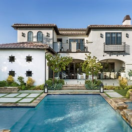Los Angeles California Spanish Mediterranean Residence