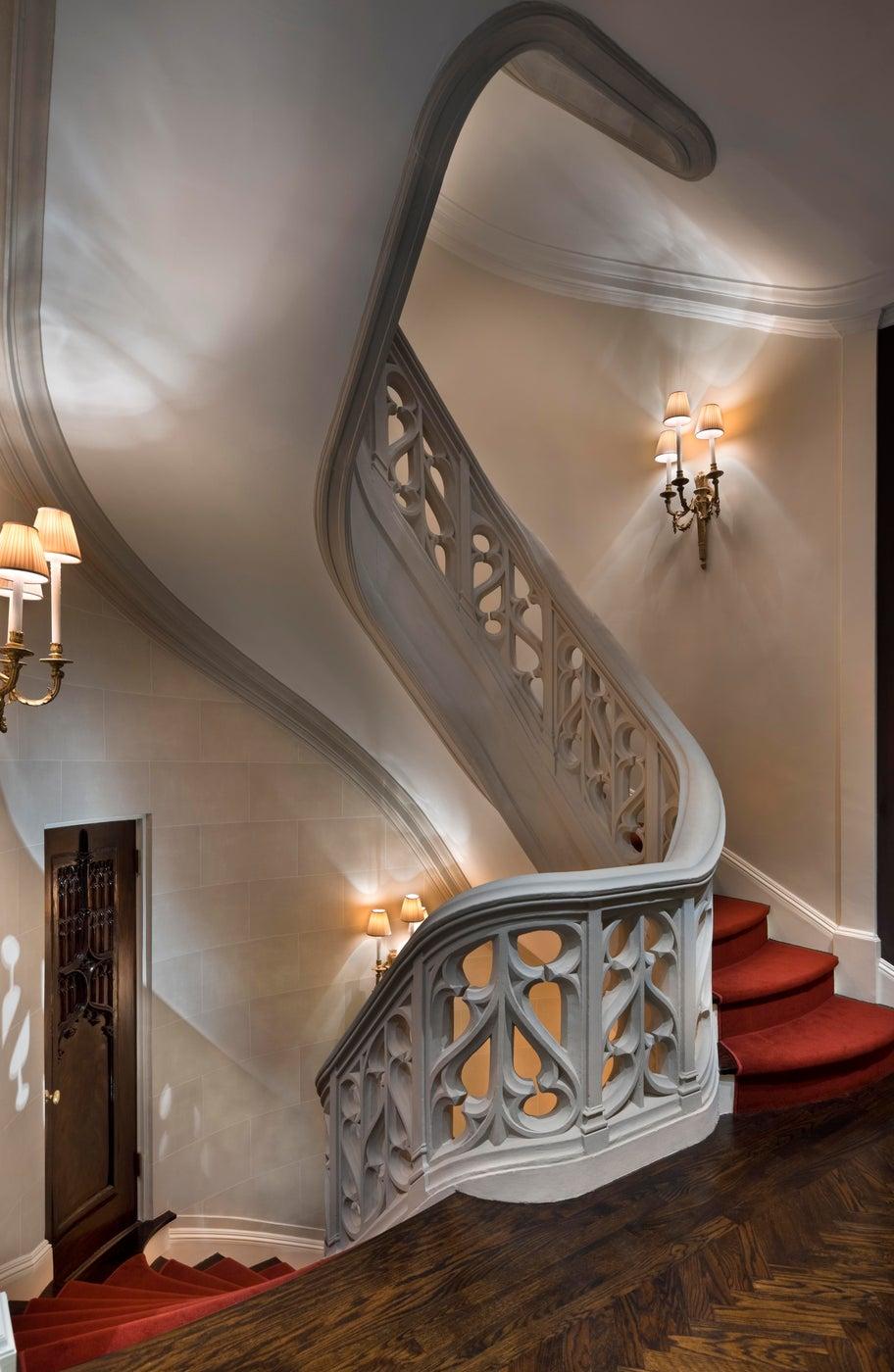 Historic New York City Townhouse Major Renovation - Staircase