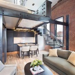 Aspen Historic Renovation - Modern Loft Condo Kitchen