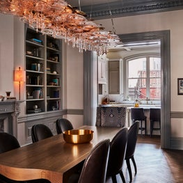 Rittenhouse Square Townhouse, Dining Room