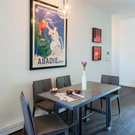 West Village Residence Dining Area