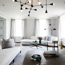 Park Avenue Duplex Formal Living Room New York City