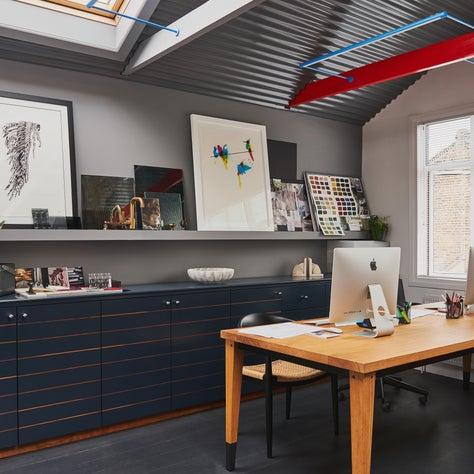 West London Design Studio, industrial style work area