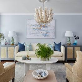 Modern serene Living Room