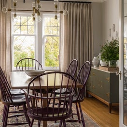 PNW Tudor dining room