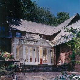 English  Glass Conservatory - Munsey Park, NY