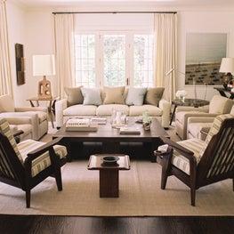 East Hampton Residence - Living Room