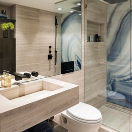 Contemporary West Village Bathroom