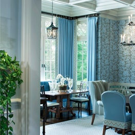 Feeling Blue? Come inside, take a look around, see how architectural detailing can enhance and brighten design and decoration.