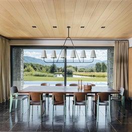 Aspen Modern Retreat Dining Room