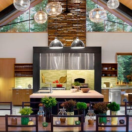 Martis Camp Residence Living Room and Kitchen