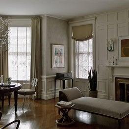 Eclectic mix of  Vladimir Kagan, French Deco, Jugendstil and Art Moderne