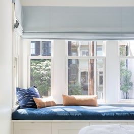 Sunny Built-In Window Seat in Modern San Francisco Condo