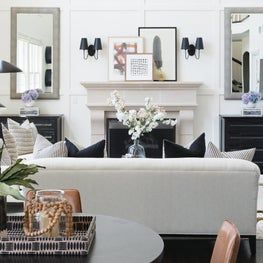 Sophisticated Neutral Family Room