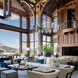 Yellowstone Club living room
