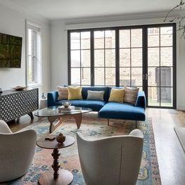 Vintage Mod Masterpiece Living Room