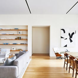 Kentfield Residence Living & Dining Room