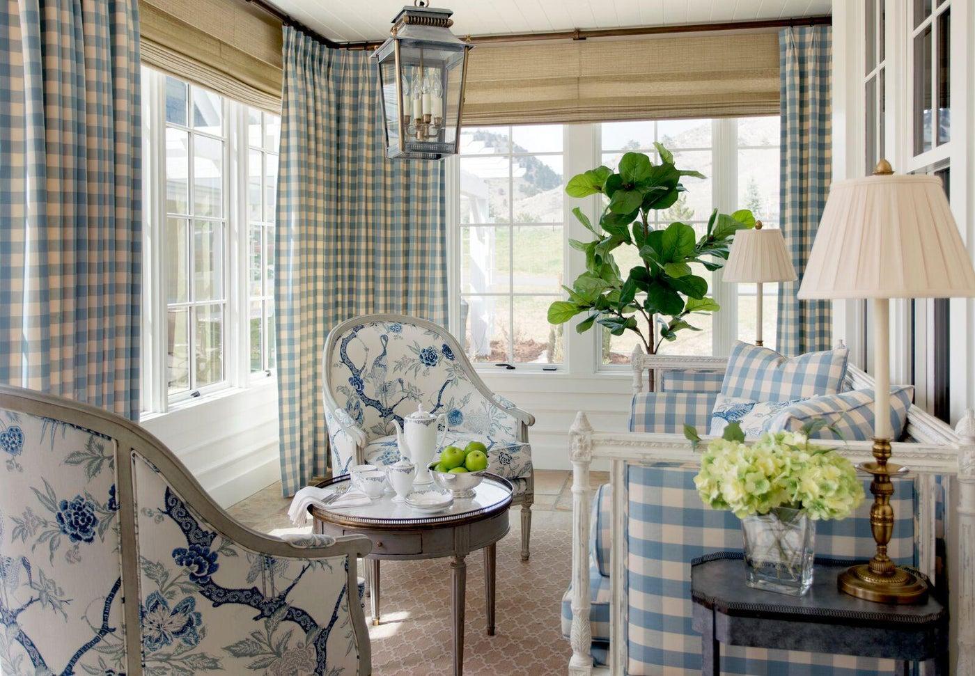 Contemporary farmhouse dining porch