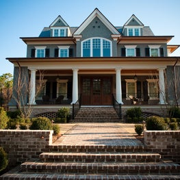 Oceanside Front Porch and Elevation