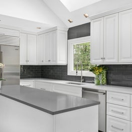 Transitional Detailing in Riverwoods, Kitchen