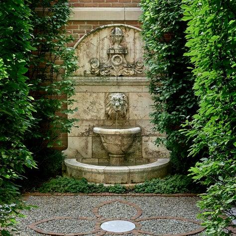 Lincoln Park Garden, Fountain Detail