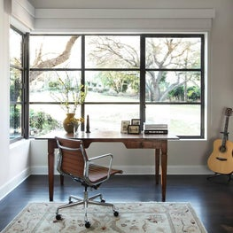 Open Transitional & Eclectic Study - Westlake Hills, Austin, Tx