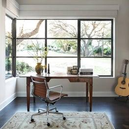 Open Transitional & Eclectic Study - Westlake Hills, Austin, Tx