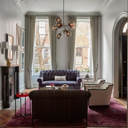 Delancey Street Townhouse, Living Room