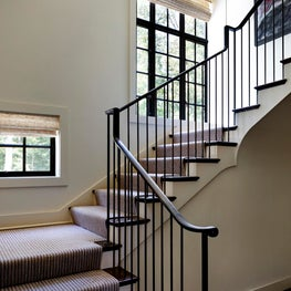 Traditional House, Custom Staircase designed by Kimmel Studio Architects