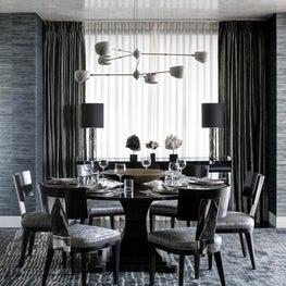 Ritz Carlton Residences, Boston; Venetian Plaster ceiling, Custom furnishings