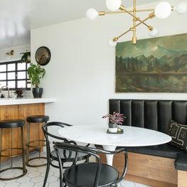 Warm, Vintage, & Modern Kitchen