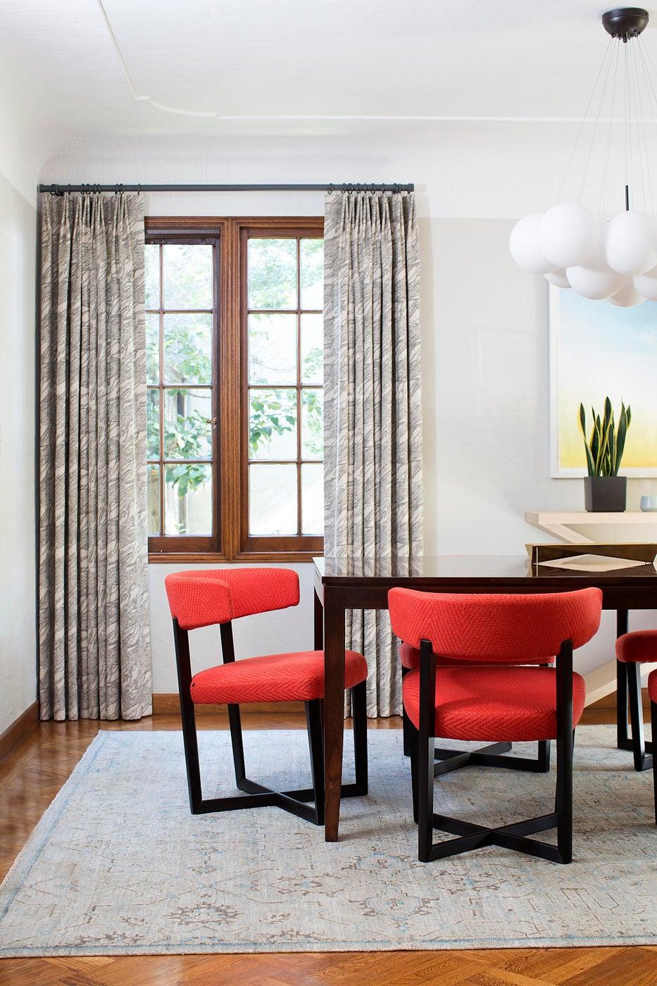 1920s Palo Alto Tudor, Dining Room