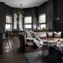 Chicago Bachelor Pad, Great Room
