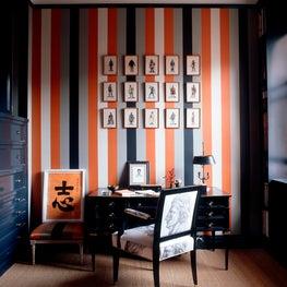 Harlem Landmark Striped Study