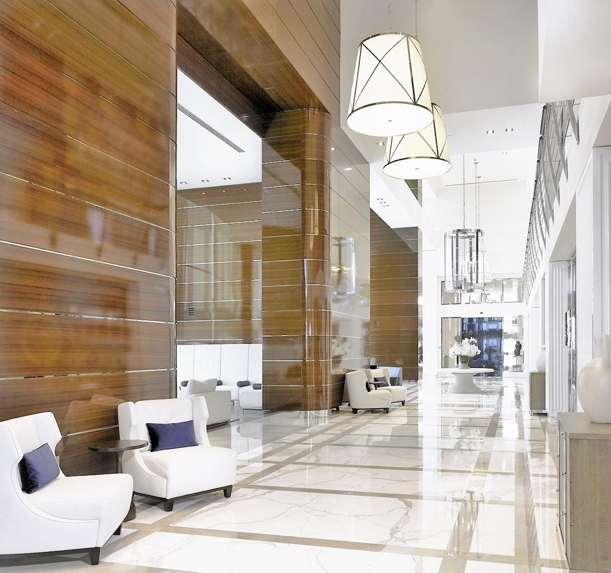 Interior Design of all common areas - Condo Building, Sunny Isles, Fl