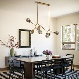 Black Gore Dining Room